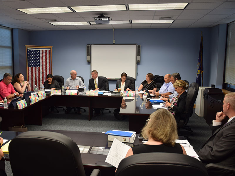 Bethpage Board of Education Holds Reorganization Meeting