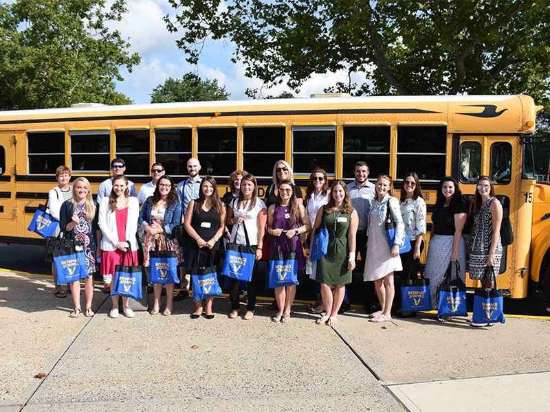 District Welcomes Its Newest Educators