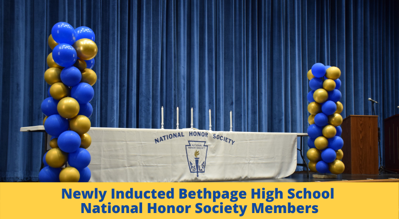 National Honor Society Induction Ceremonies