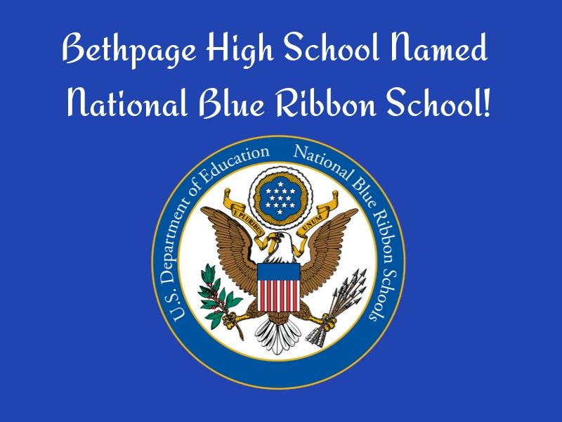 Bethpage High School Named National Blue Ribbon School