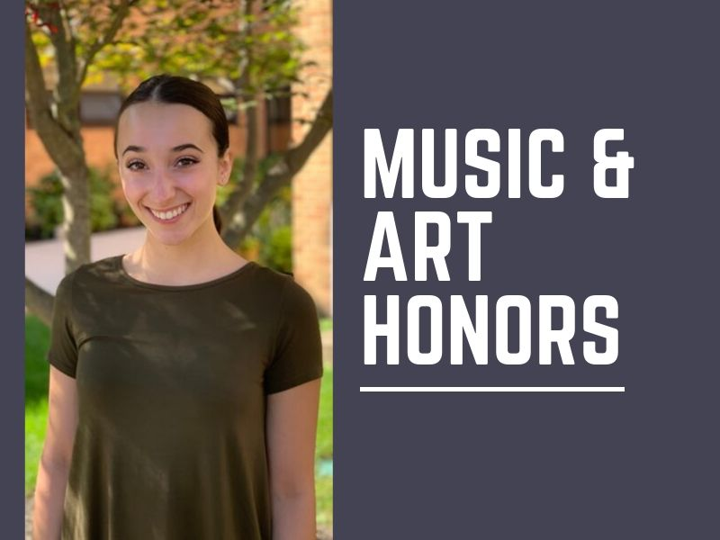 BHS Senior Honored for Music and Art