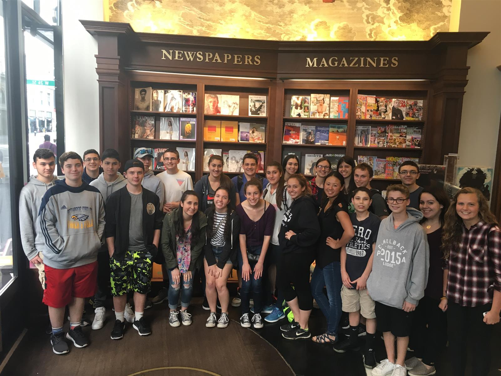 Italian Club Visits Rizzoli Bookstore