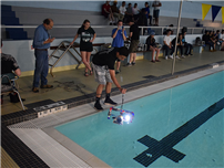 BHS Students Test-Drive Underwater Robots photo