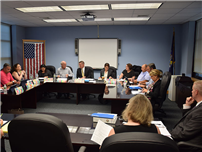 Bethpage Board of Education Holds Reorganization Meeting photo